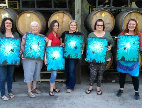 winery painting class