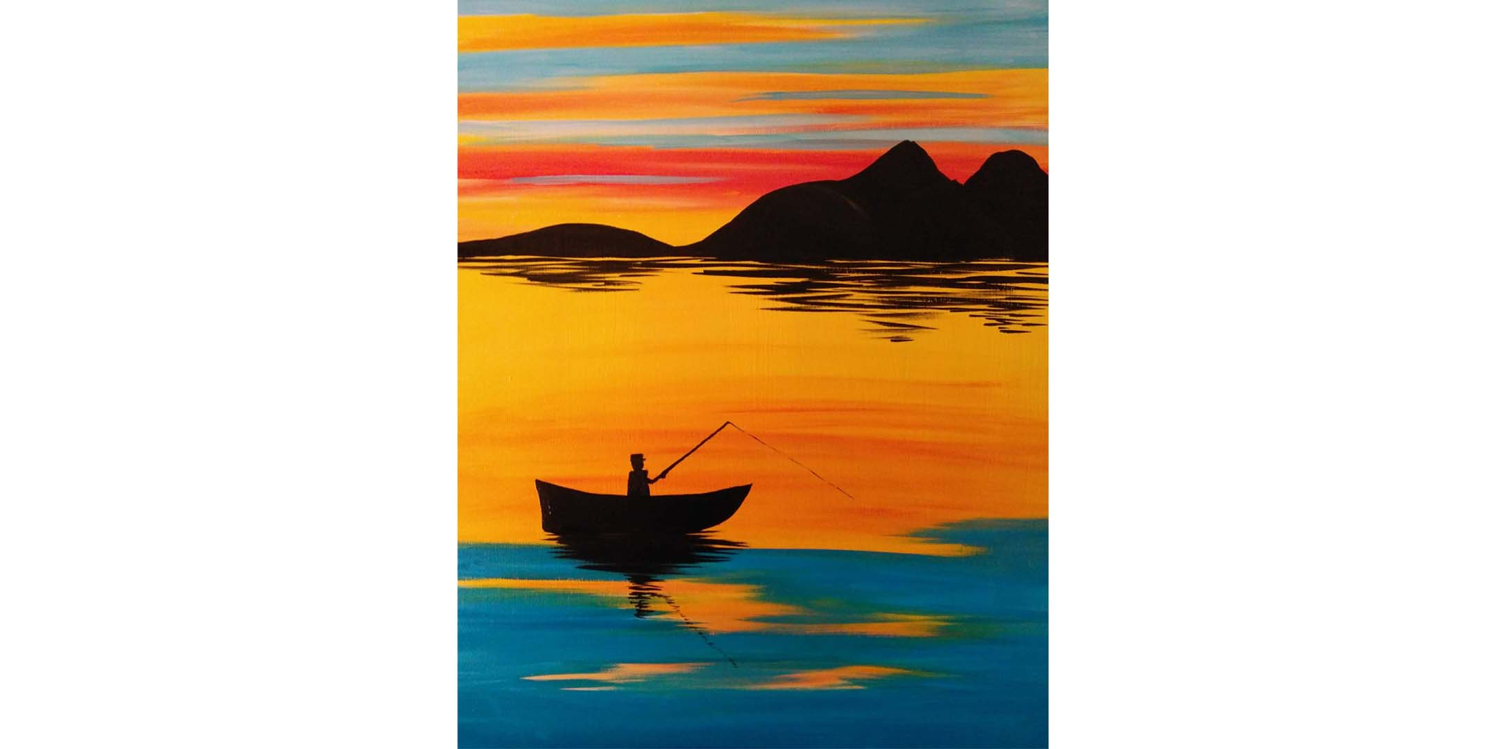 July 29th 1pm Online Painting Class
