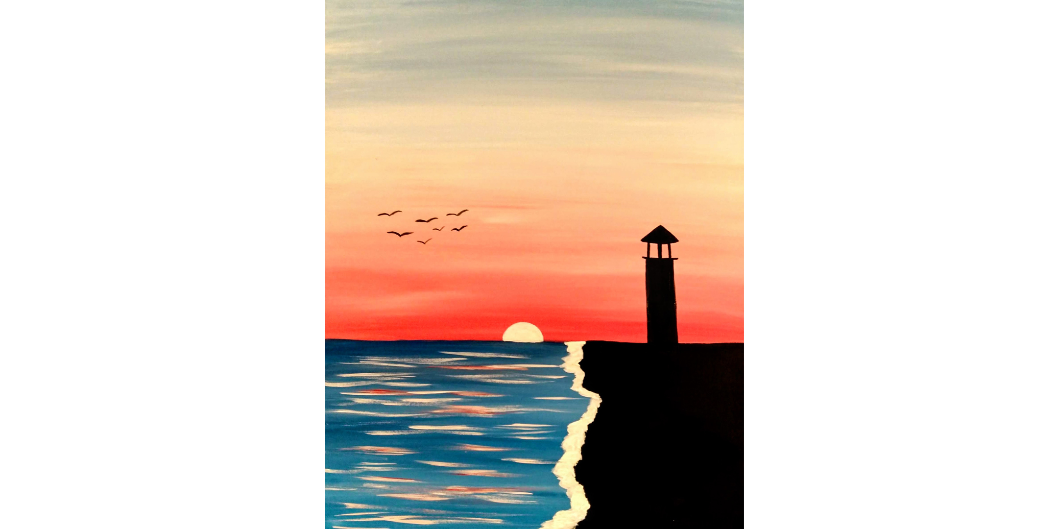 June 27th 1pm Sip and Paint