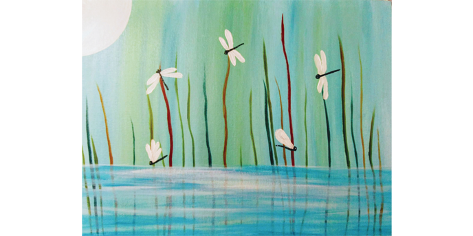 July 30th 2pm Online Painting Class
