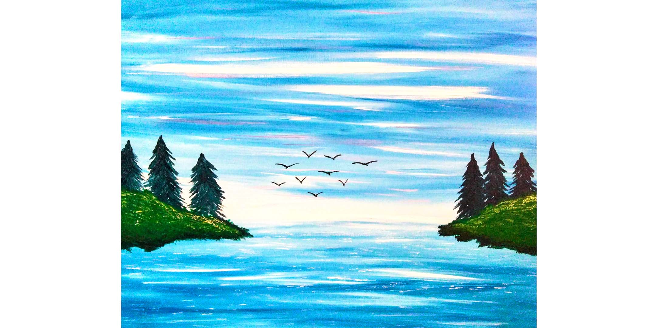 June 24th 4pm Online Painting Class