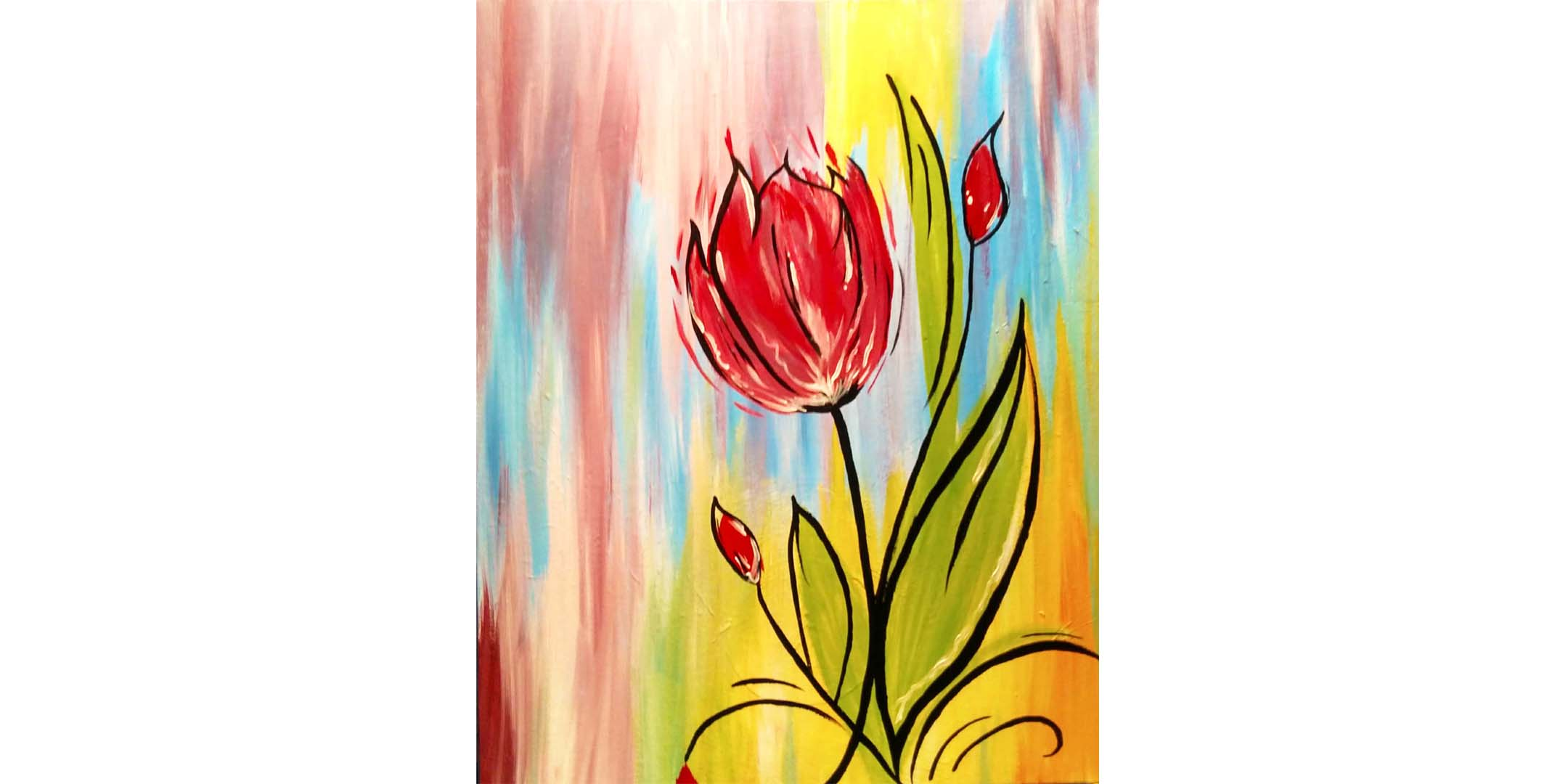 June 24th 1pm Online Painting Class