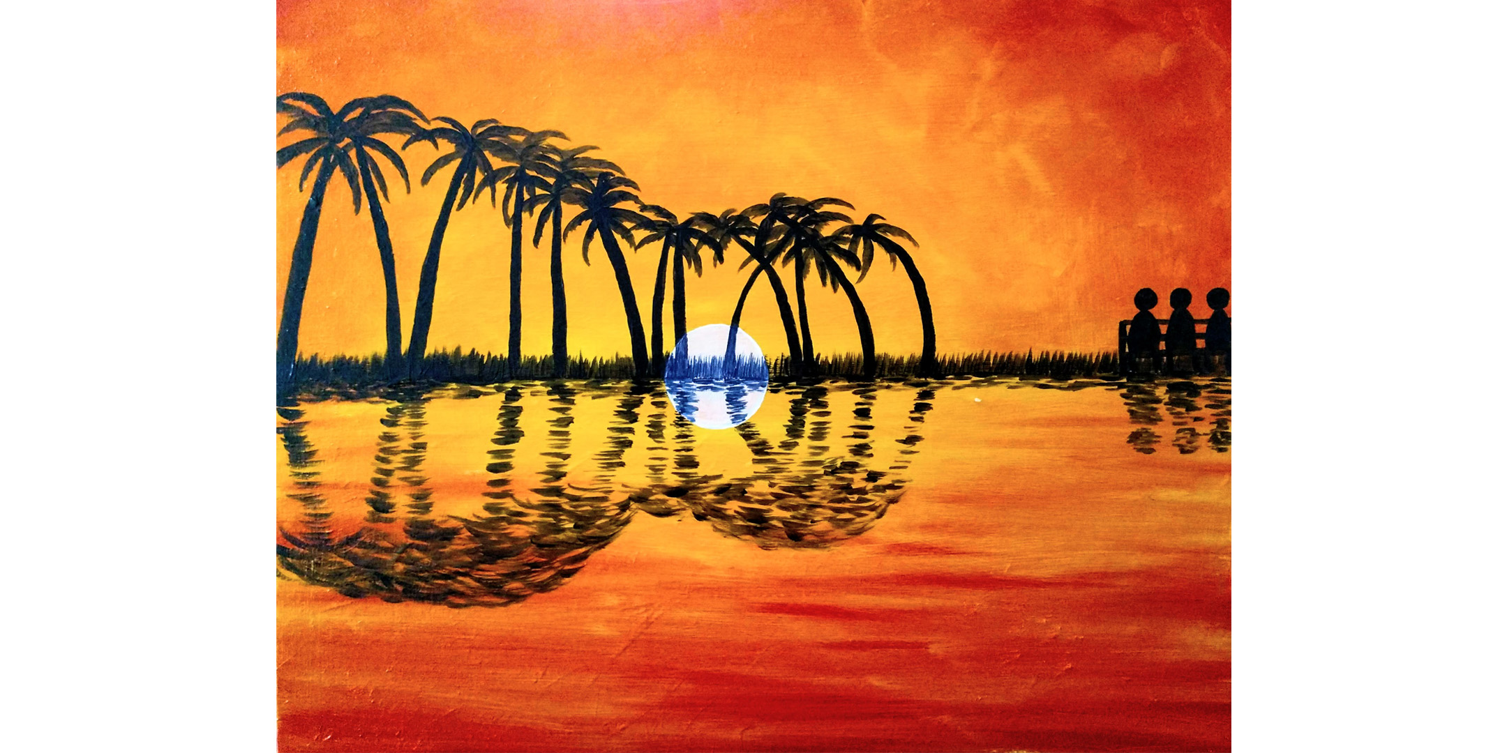 July 16th 5pm Sip and Paint